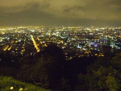 Bogota bei Nacht