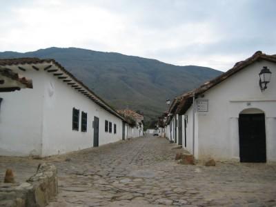 Straßenszene in Villa de Leyva