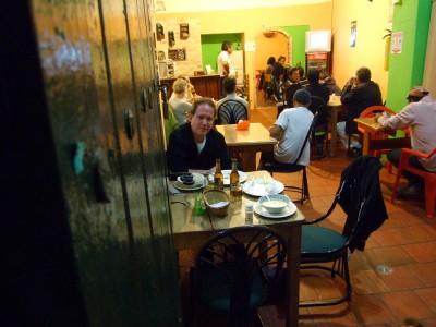 Abendessen in Villa de Leyva