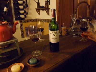 Unglaublich, wirklich sehr leckerer kolumbianischer Rotwein in Villa de Leyva