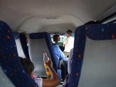 Im Bus nach Arcabuco
