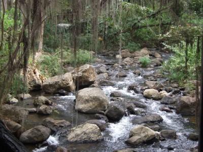 Rio Fonce (jo da Fonse) in San Gil