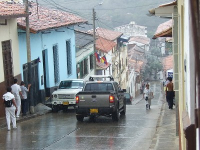 Straßenszene San Gil