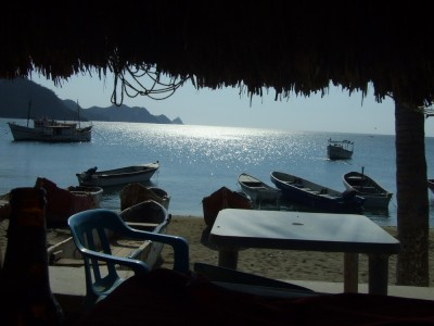 Blick auf die Bucht von Taganga