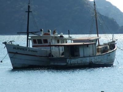 Boot in der Bucht von Taganga