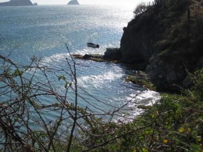 Kleine Nebenbucht weiter östlich von Playa Grande Taganga