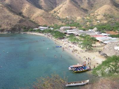 Playa Grande bei Taganga