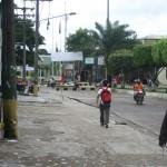 Grenzübergang von Tabatinga Brasilien nach Leticia Kolumbien