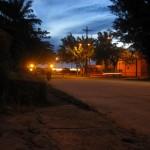 Nächtliche Szene in Leticia Kolumbien