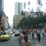 Zentrum und Hauptplatz in Cali Kolumbien